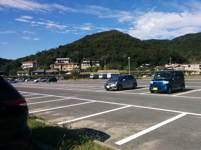 渋川海水浴場 駐車場