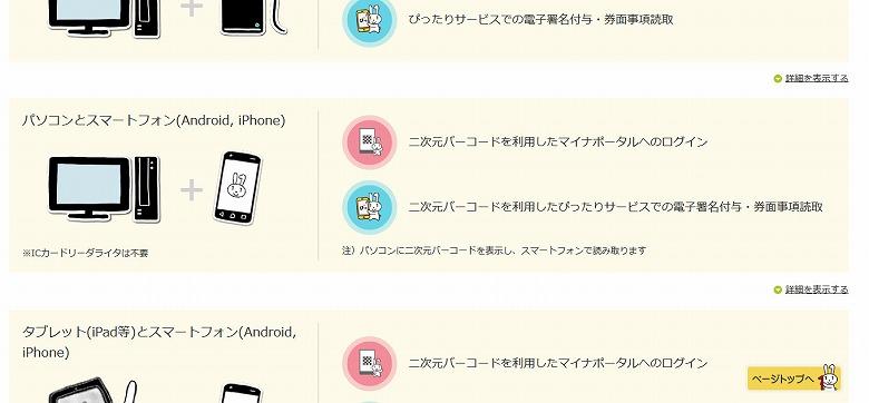 パソコンとスマートフォン(Android, iPhone)